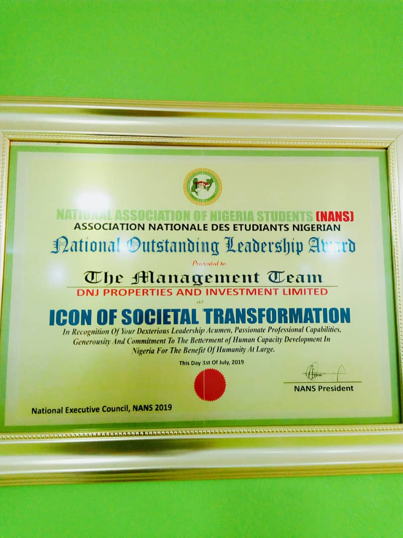 NANS Award